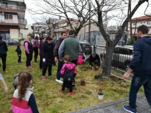 Εθελοντική συμμετοχή γονέων, παιδιών και εκπαιδευτικών